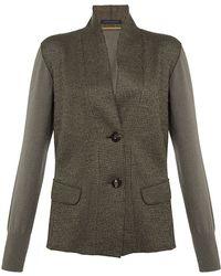 Lamberto Losani Knitted Jacket - Grey