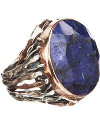 Sandra Dini - Rough Sapphire Ring - Lyst
