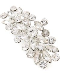 Dauphines of New York | Crystal Palace Barrette - Crystal | Lyst