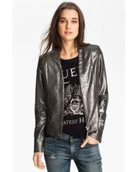 Trouvé Metallic Vneck Jacket - Lyst
