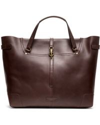 Coach Bleecker Leather Saddle Tote - Lyst