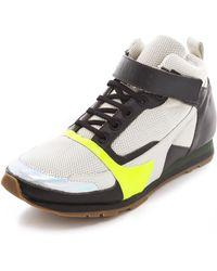 Jil Sander High Top Sneakers - White