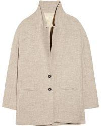 Vanessa Bruno Athé - Oversized Woolblend Coat - Lyst
