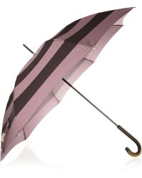 Burberry Prorsum - Studded handle Printed Umbrella - Lyst