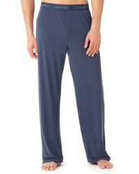 Calvin Klein Micromodal Lounge Pants - Lyst