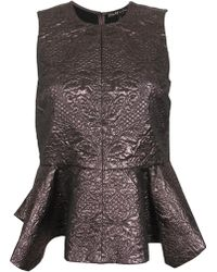 Elizabeth And James Yumi Brocade Top - Lyst