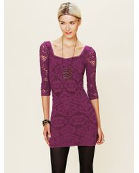 Free People Bodycon Dress - Lyst