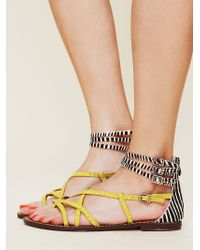 Free People Genoa Sandals - Lyst