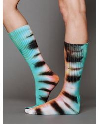 Free People Brightly Twisted Ankle Sock multicolor - Lyst