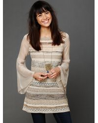 Free People Bell Sleeve Tunic - Lyst
