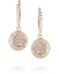 Ileana Makri Dangling Gem 18karat Rose Gold Diamond Earrings - Lyst