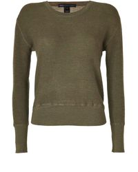 Marc By Marc Jacobs Moss Green Wool Tinker Thermal Pullover - Lyst