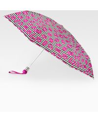 Marc By Marc Jacobs Skinny Stripey Lips Umbrella pink - Lyst