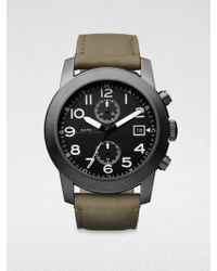Marc By Marc Jacobs Two-Eye Chronograph Watch - Lyst