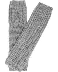 Stella McCartney - Chunkyknit Wool Arm Warmers - Lyst