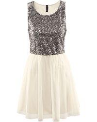 H&M Dress white - Lyst