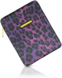 Juicy Couture | Leopard Print Ipad Case | Lyst