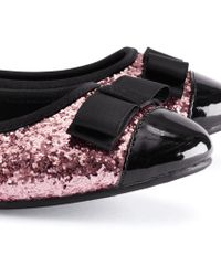 H&M Pink Ballet Pumps - Lyst