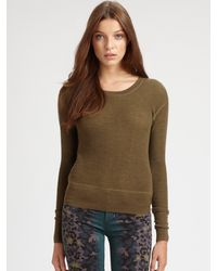 Marc By Marc Jacobs Thermal Sweater Top - Lyst