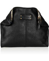 Alexander McQueen De Manta Textured Leather Cosmetics Case - Lyst