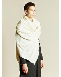 Thamanyah - Thamanyah Mens Oversized Cashmere Scarf - Lyst