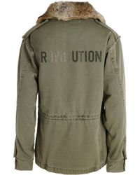 Zadig & Voltaire Parka Kimly green - Lyst