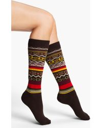 Kensie | Pattern Knee Socks | Lyst