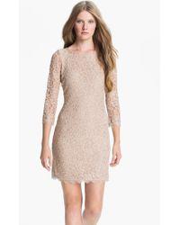 Diane von Furstenberg Lace Sheath Dress - Lyst