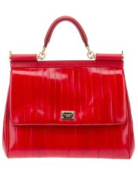 Dolce & Gabbana Tote Bag red - Lyst
