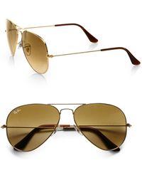 Ray-Ban Original Aviator Sunglasses - Lyst
