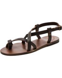 Ishvara - Ibiza Flat Sandals - Lyst