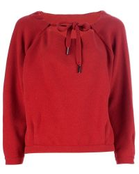 Mus Wide Sweater red - Lyst