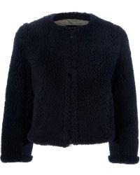 Sonia Rykiel Fur Jacket - Lyst