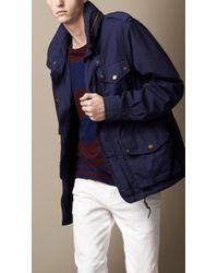 Burberry Brit - Heritage Cotton Field Jacket - Lyst