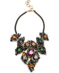 Erickson Beamon - Crystal Bib Necklace - Lyst
