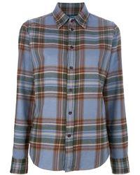 Ralph Lauren Blue Label Plaid Shirt - Lyst