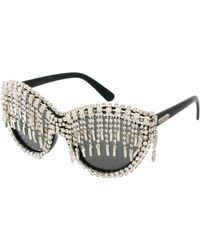 A-morir Amorir Sylvester Sunglasses - Metallic