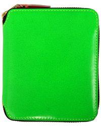 Comme des Garçons Wallet Super Fluro Green green - Lyst