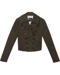 McQ by Alexander McQueen Mini Peacoat brown - Lyst
