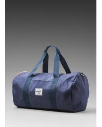 Herschel Supply Co. Denim Collection Duffle Bag Backpack - Lyst