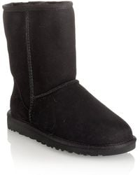 Ugg Short Suede Boot - Lyst