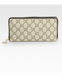Gucci Gg Pierce Zip-Around Wallet - Lyst