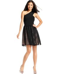 JS Collections Sleeveless Bodycon Pleated Sequin Lace Dress - Lyst