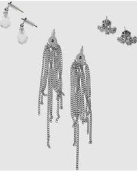 Juicy Couture Earrings - Metallic
