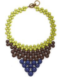 ModCloth Just Bead Yourself Necklace in Earth - Lyst