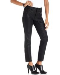 Not Your Daughter's Jeans Angelina Jeggings Black Wash