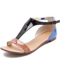 Boutique 9 - Piraya Colorblock Sandals - Lyst