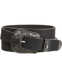 Topshop Medium Traditional Western Belt - Lyst