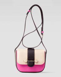 Jason Wu Daphne Mini Colorblock Crossbody Bag pink - Lyst