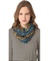 We Are Owls - Leopard Ombre Scarf - Lyst